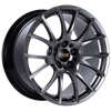 BBS RE-V 19x9 5x120 ET22 Diamond Black Wheel -82mm PFS/Clip Required