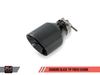 AWE Track Edition Exhausts for MK5 Jetta, MK6 Sportwagen 2.5L - Diamond Black Tips
