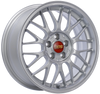 BBS RG-F 16x7 5x100 ET35 Sport Silver Wheel -70mm PFS/Clip Required