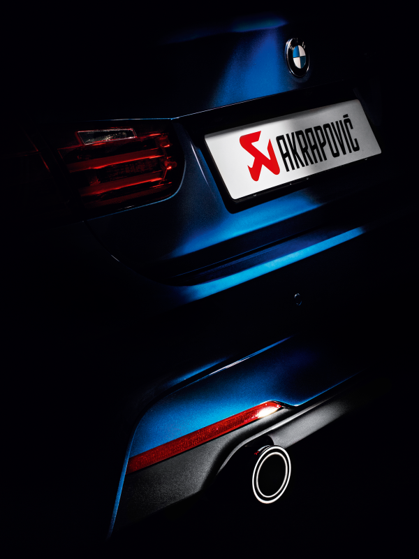 Akrapovic 12-15 BMW 335i (F30 F31) Evolution Line Cat Back (SS) w/ Carbon Tips (Req. Link Pipe)
