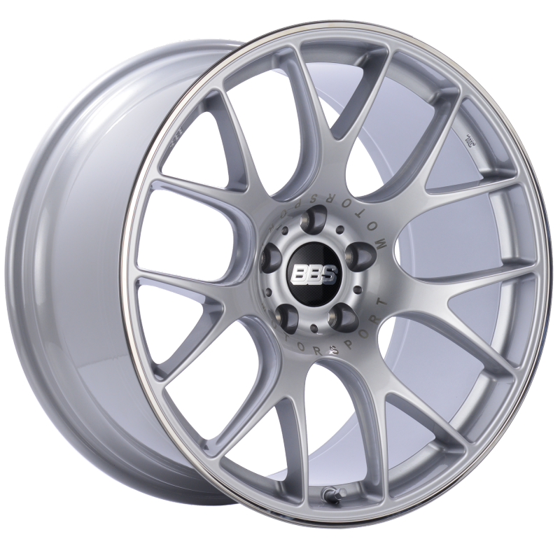 BBS CH-R 20x10.5 5x120 ET24 Brilliant Silver Polished Rim Protector Wheel -82mm PFS/Clip Required
