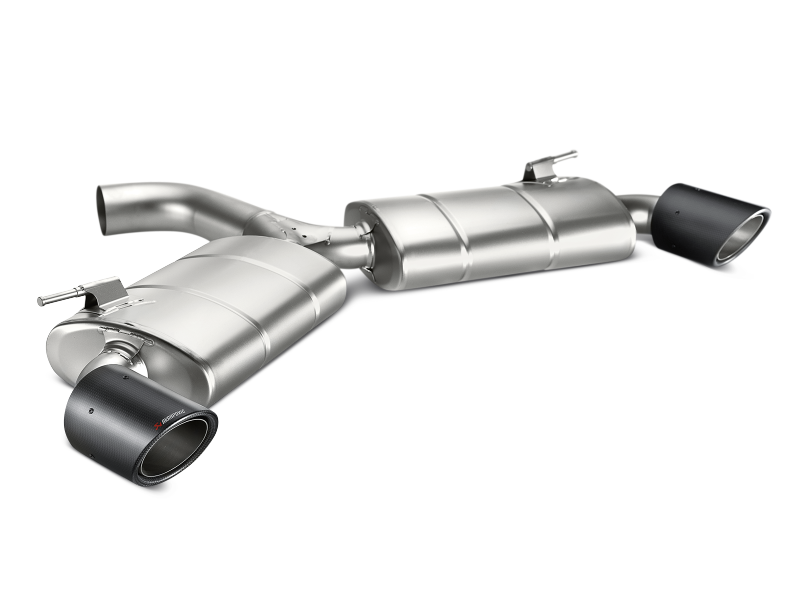 Akrapovic 13-17 Volkswagen Golf GTI (VII) Slip-On Line (Titanium) w/ Carbon Tips