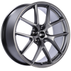 BBS CI-R 20x8.5 5x114.3 ET40 Platinum Silver Polished Rim Protector Wheel -82mm PFS/Clip Required