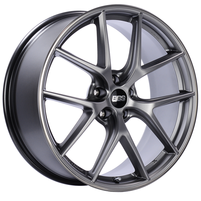 BBS CI-R 20x8.5 5x112 ET32 Platinum Silver Polished Rim Protector Wheel -82mm PFS/Clip Required