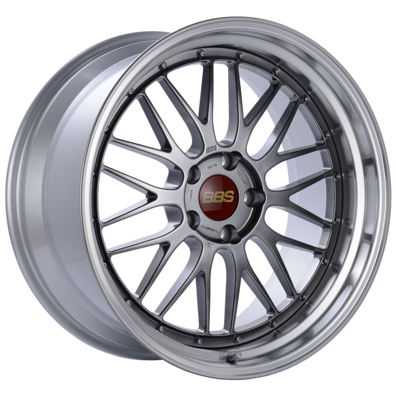 BBS LM 20x10 5x120 ET20 Diamond Black Center Diamond Cut Lip Wheel -82mm PFS/Clip Required