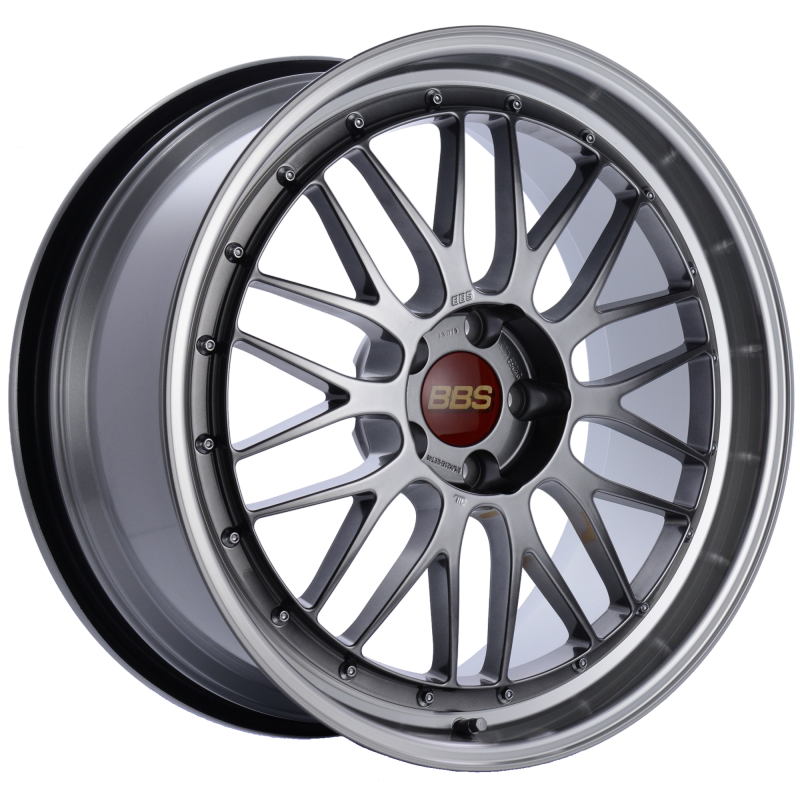 BBS LM 20x9.5 5x114.3 ET40 CB66 Diamond Black Center Diamond Cut Lip Wheel