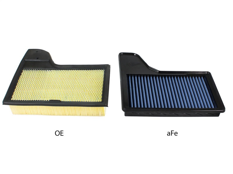 aFe MagnumFLOW OEM Replacement Air Filter PRO 5R 2015 Ford Mustang L4 / V6 / V8