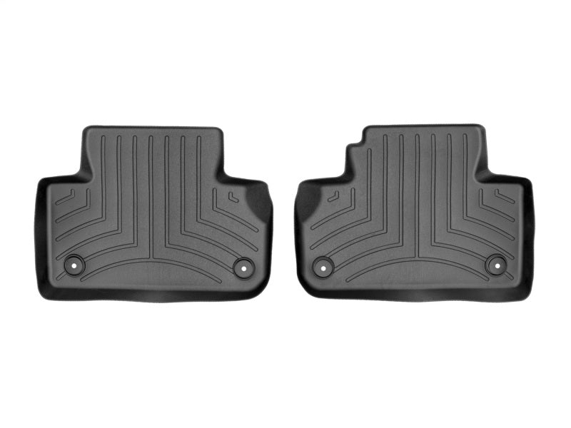 WeatherTech 2018+ Audi Q5/SQ5 Rear FloorLiner - Black