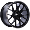 BBS CH-R 20x10.5 5x120 ET24 Satin Black Polished Rim Protector Wheel -82mm PFS/Clip Required
