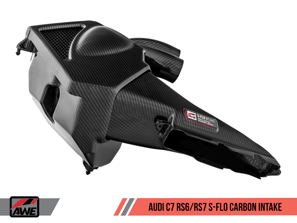 AWE S-FLO Carbon Intake for Audi C7 RS 6 / RS 7