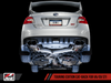 AWE Touring Edition Exhaust for VA STI / GV WRX / GV STI Sedan - Diamond Black Quad Tips (102mm)