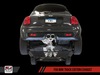 AWE Track Edition Exhaust System for MINI F56 S / JCW - Chrome Silver Tips