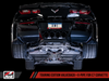 AWE Track Edition Conversion Kit for Valveback Systems for C7 Corvette