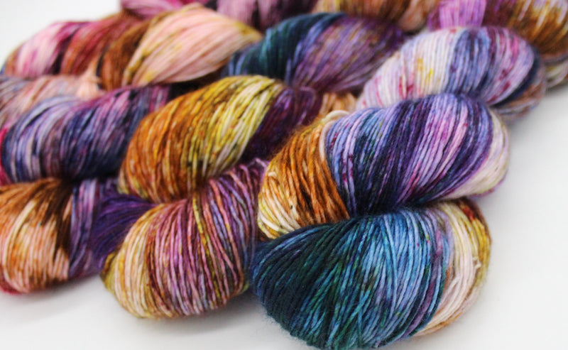 Luminous Fingering Single Ply - MaelströmFiber Arts