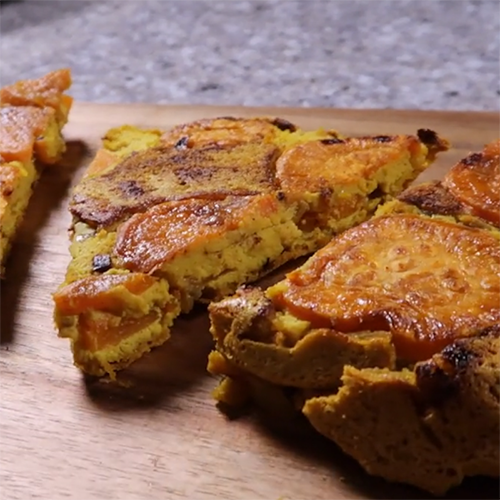 Sweet Potato & TurmeriX™ Frittata