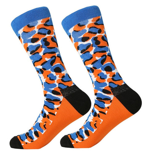 Orange You Blue Socks