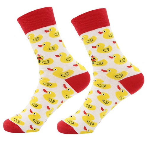 White Water Duck Socks
