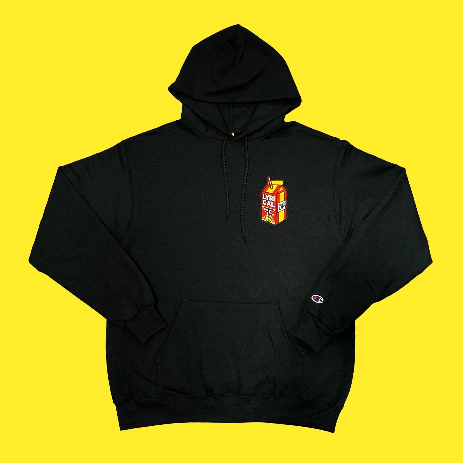 Lyrical Lemonade x FaZe Carton Hoodie in Black