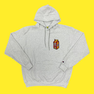 Lyrical Lemonade x FaZe Carton Hoodie in Grey