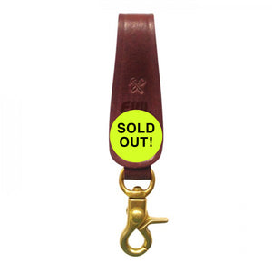 Billy Kirk Custom Leather Key Fob