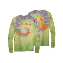 Load image into Gallery viewer, Racism Is For Choads Longsleeve Tie Dye Tee