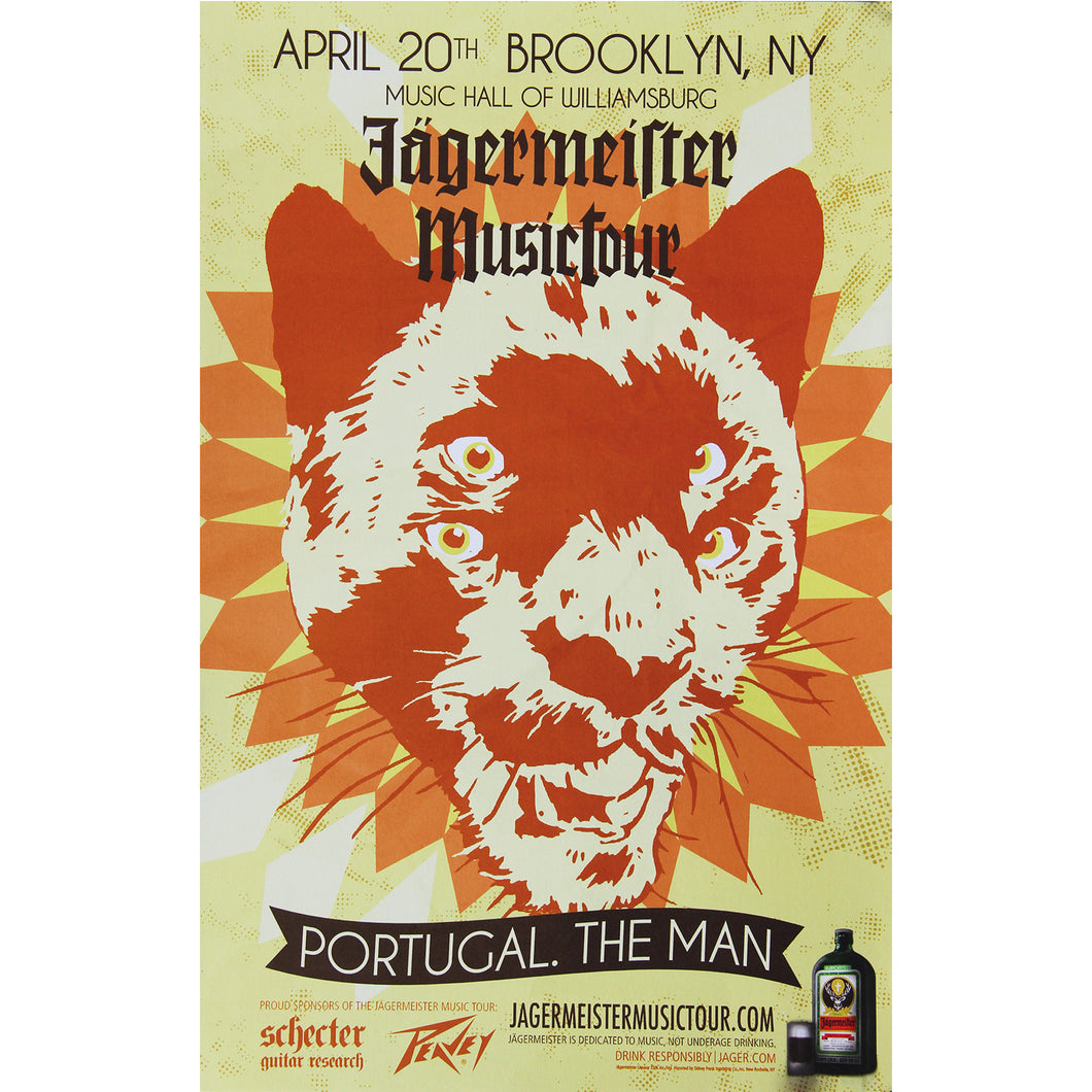 Music Hall of Williamsburg 2012 Show Poster