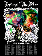 Load image into Gallery viewer, PTM 2018 World Tour Poster