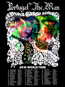 PTM 2018 World Tour Poster