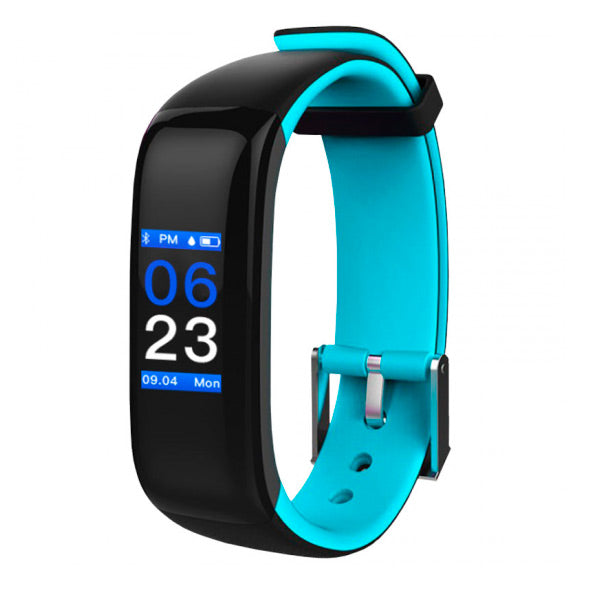 "Activity-Armband BRIGMTON BSPORT-15-A 0,96"" Bluetooth Blau"