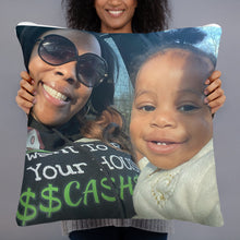 Load image into Gallery viewer, Personalized Keepsake Photo Pillow