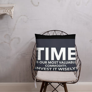 TIME COLLECTION Pillow