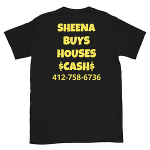 Personalized Short-Sleeve Unisex I BUY HOUSES T-Shirt