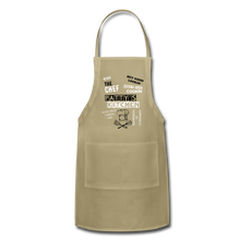 Load image into Gallery viewer, Personalized Adjustable Apron - khaki