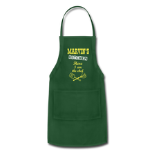 Load image into Gallery viewer, Personalized Adjustable Aprons - forest green