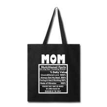 Load image into Gallery viewer, Mom Tote Bag - black