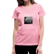 Load image into Gallery viewer, SUCCESS COLLECTIONS Women's V-Neck T-Shirt - pink