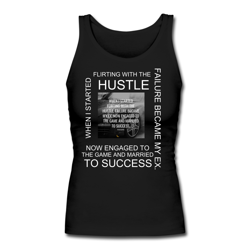 SUCCESS COLLECTION Women's Longer Length Fitted Tank - black