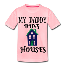 Load image into Gallery viewer, DADDY BUYS COLLECTION Kids' Premium T-Shirt - pink