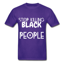 Load image into Gallery viewer, BLACK LIVES MATTER  T-Shirt - purple