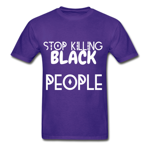 BLACK LIVES MATTER  T-Shirt - purple