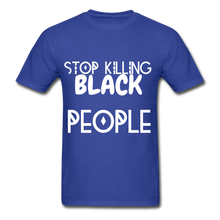 Load image into Gallery viewer, BLACK LIVES MATTER  T-Shirt - royal blue