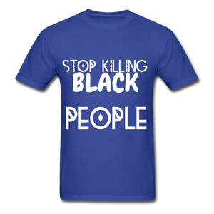 BLACK LIVES MATTER  T-Shirt - royal blue