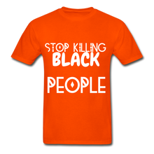 Load image into Gallery viewer, BLACK LIVES MATTER  T-Shirt - orange