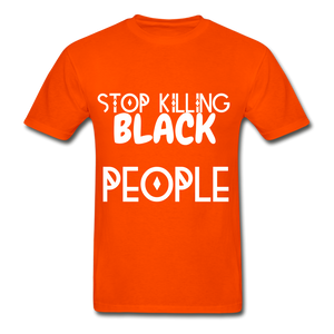 BLACK LIVES MATTER  T-Shirt - orange