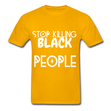 Load image into Gallery viewer, BLACK LIVES MATTER  T-Shirt - gold