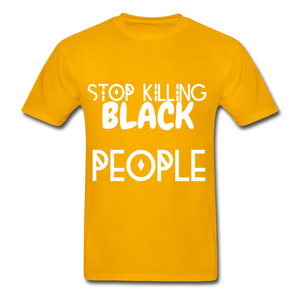 BLACK LIVES MATTER  T-Shirt - gold