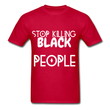 Load image into Gallery viewer, BLACK LIVES MATTER  T-Shirt - red
