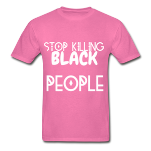 BLACK LIVES MATTER  T-Shirt - hot pink