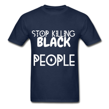 Load image into Gallery viewer, BLACK LIVES MATTER  T-Shirt - navy