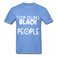 Load image into Gallery viewer, BLACK LIVES MATTER  T-Shirt - carolina blue